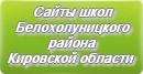 Сайты школ Белохолуницкого района Кировской области