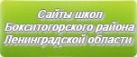 Сайты школ Бокситогорского района Ленинградской области