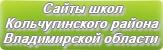 Сайты школ Кольчугинского района Владимирской области