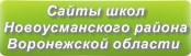 Сайты школ Новоусманского района Воронежской области