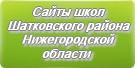Сайты школ Шатковского района Нижегородской области